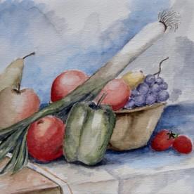 Keukenschilderijtje