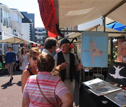 Place du Tertre in Zandvoort