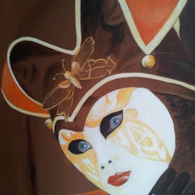 Carnavals masker Venetië  (gestolen)