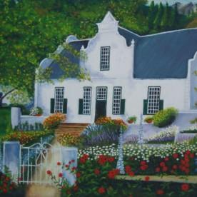 Wijndrinkers huisje Zuid Afrika verkocht