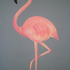 Flamingo 70 x 50