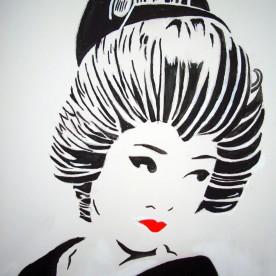 Geisha 50x40