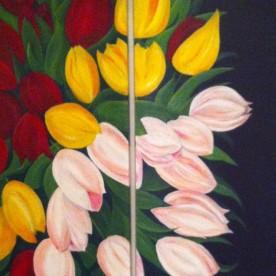 Tulpen tweeluik – verkocht