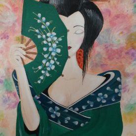 Geisha 50h x 40h (verkocht)