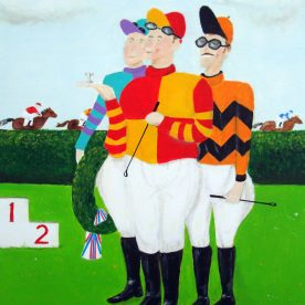 Jockeys  50h x 40h