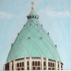 Koepel Nieuwe Sint Bavo Haarlem  (30b x30h)